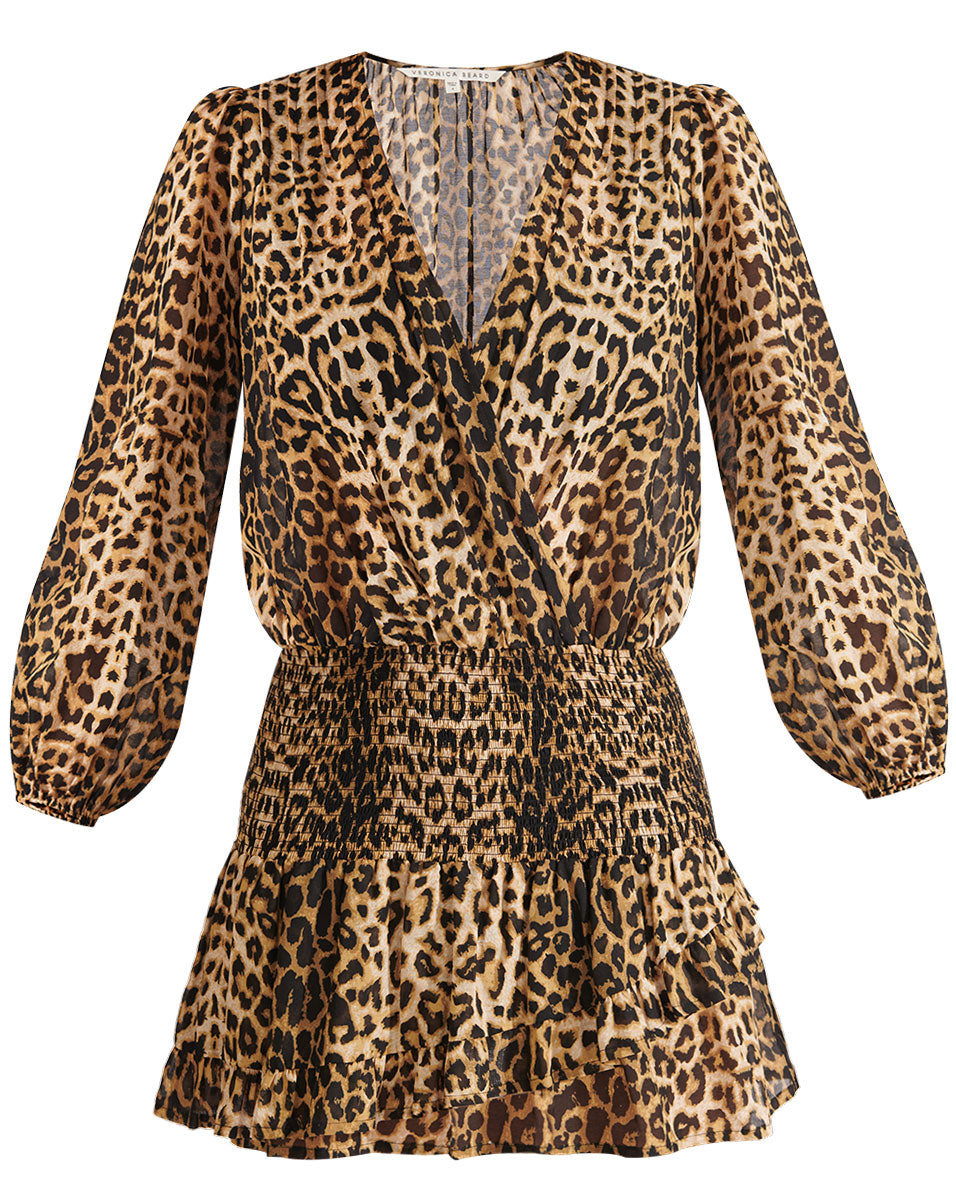 Kynance Dress - Leopard