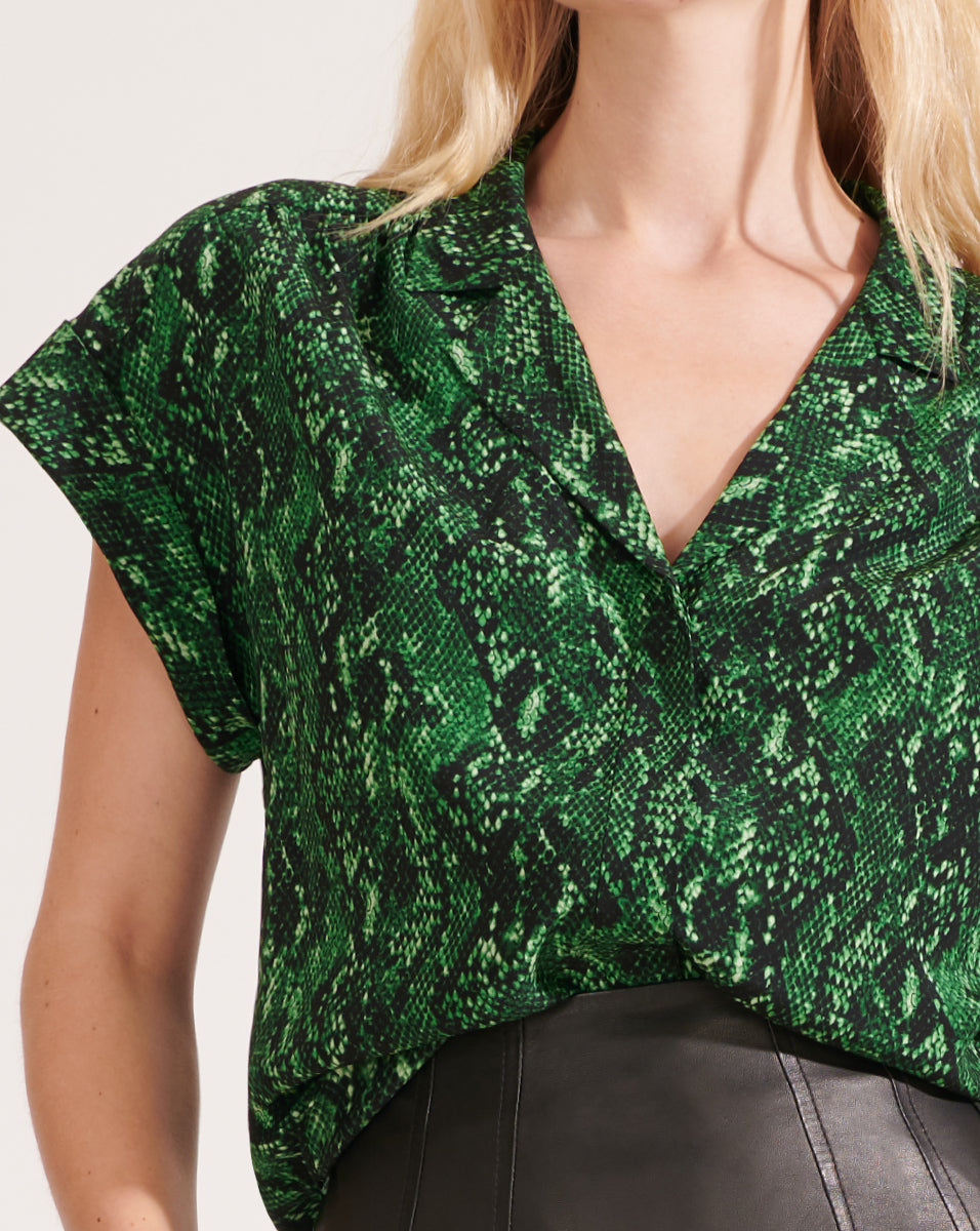 Merci Blouse - Green