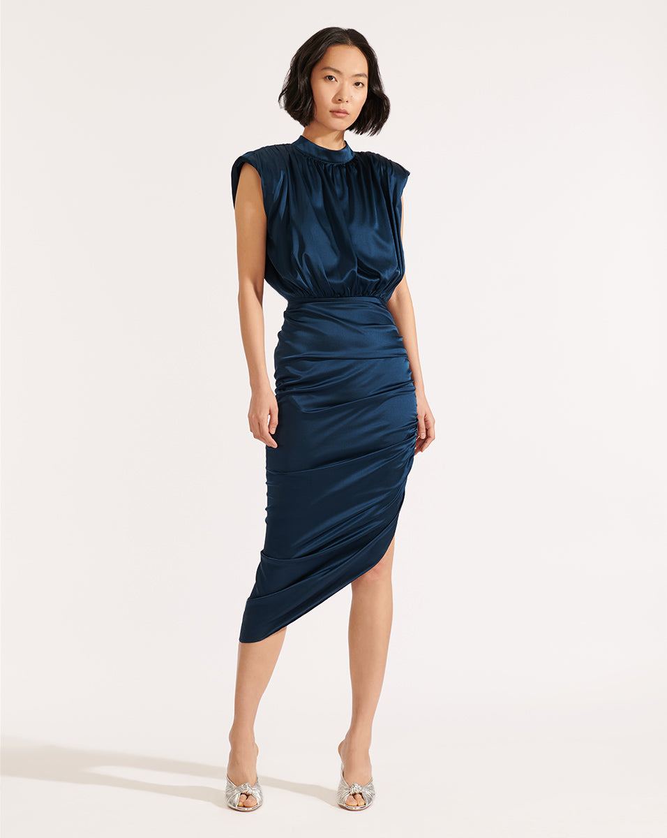 Kendall Dress - Petrol