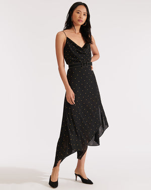 Heera Dress - Black