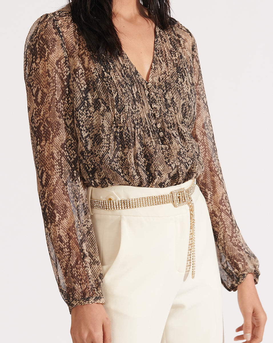 Lowell Blouse - Nude