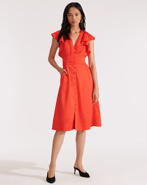 Sada Dress - Red