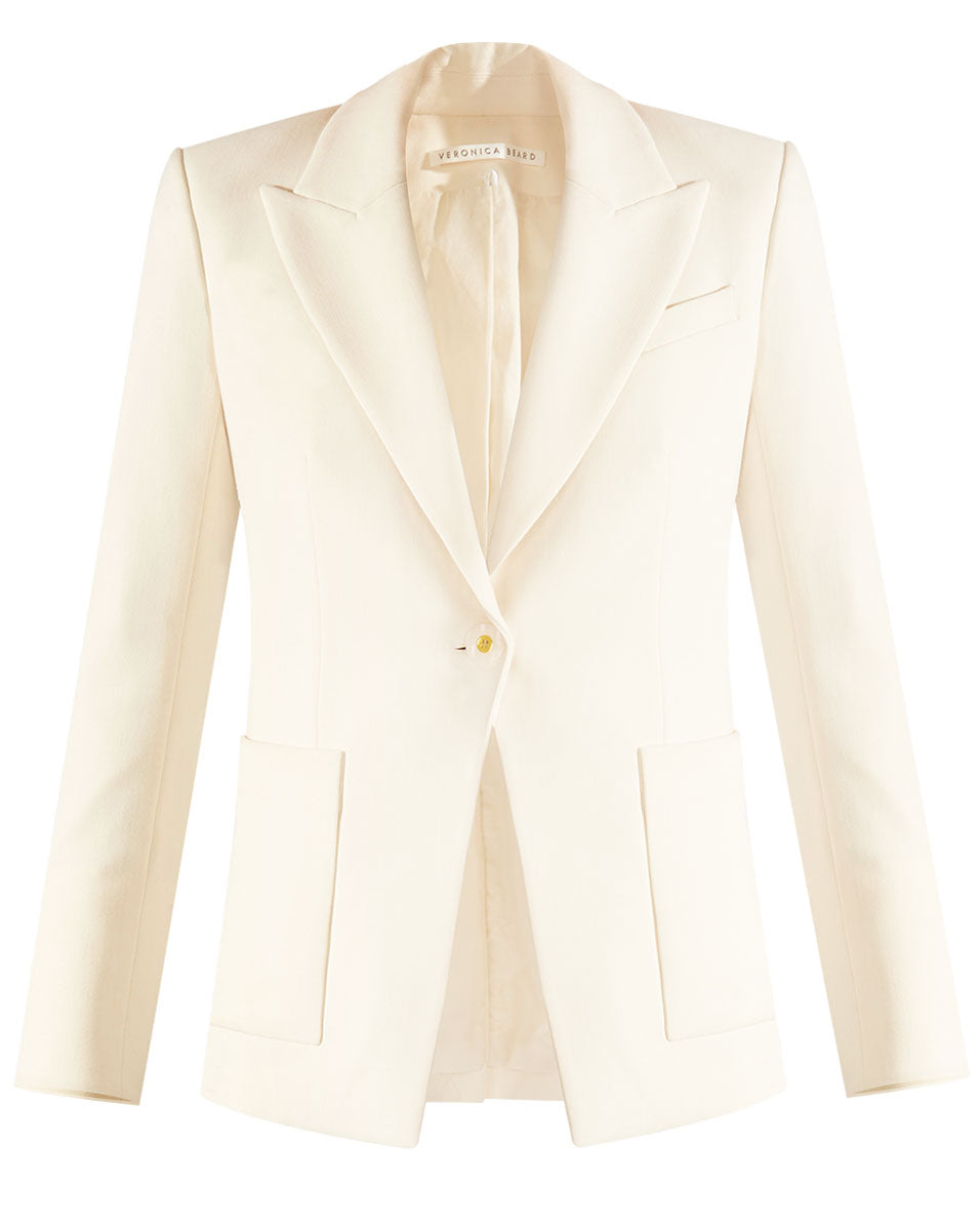Kayden Dickey Jacket - White