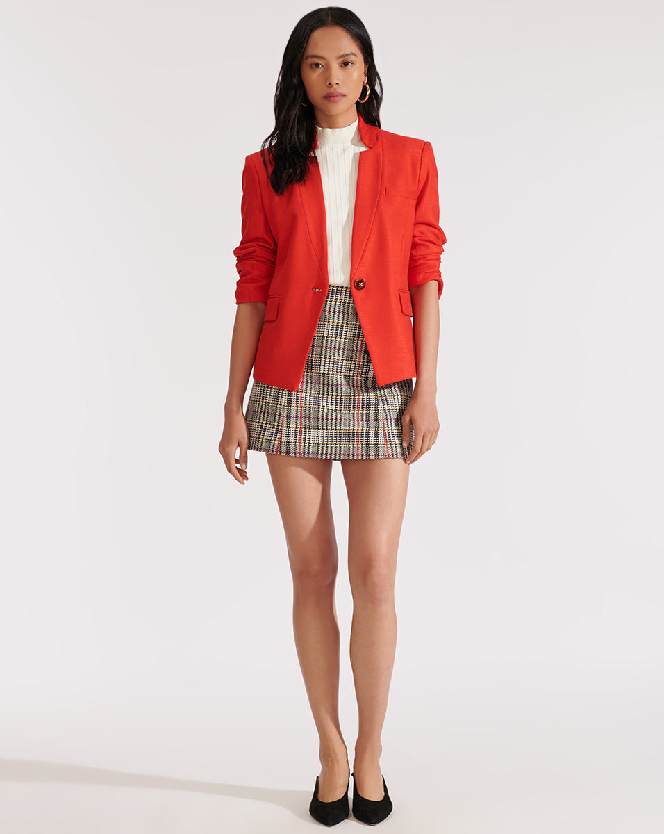 Farley Dickey Jacket - Red