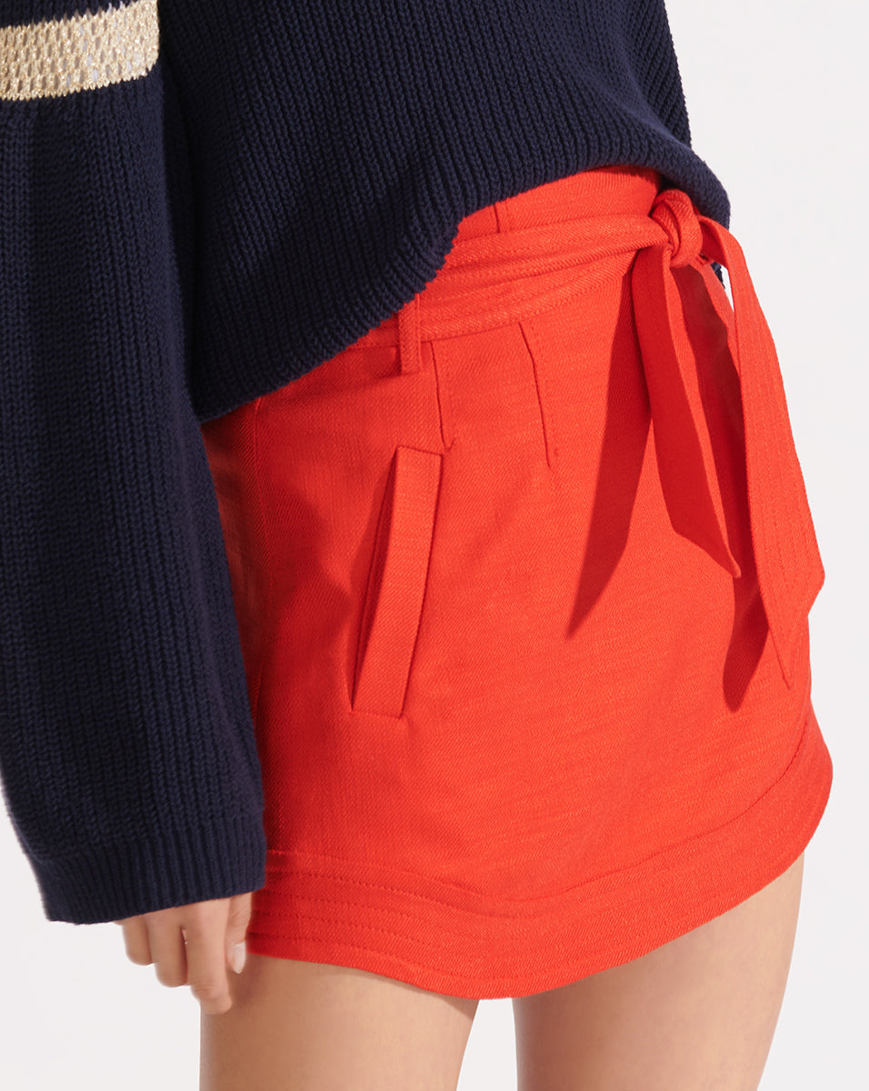 Nyrie Skirt - Red