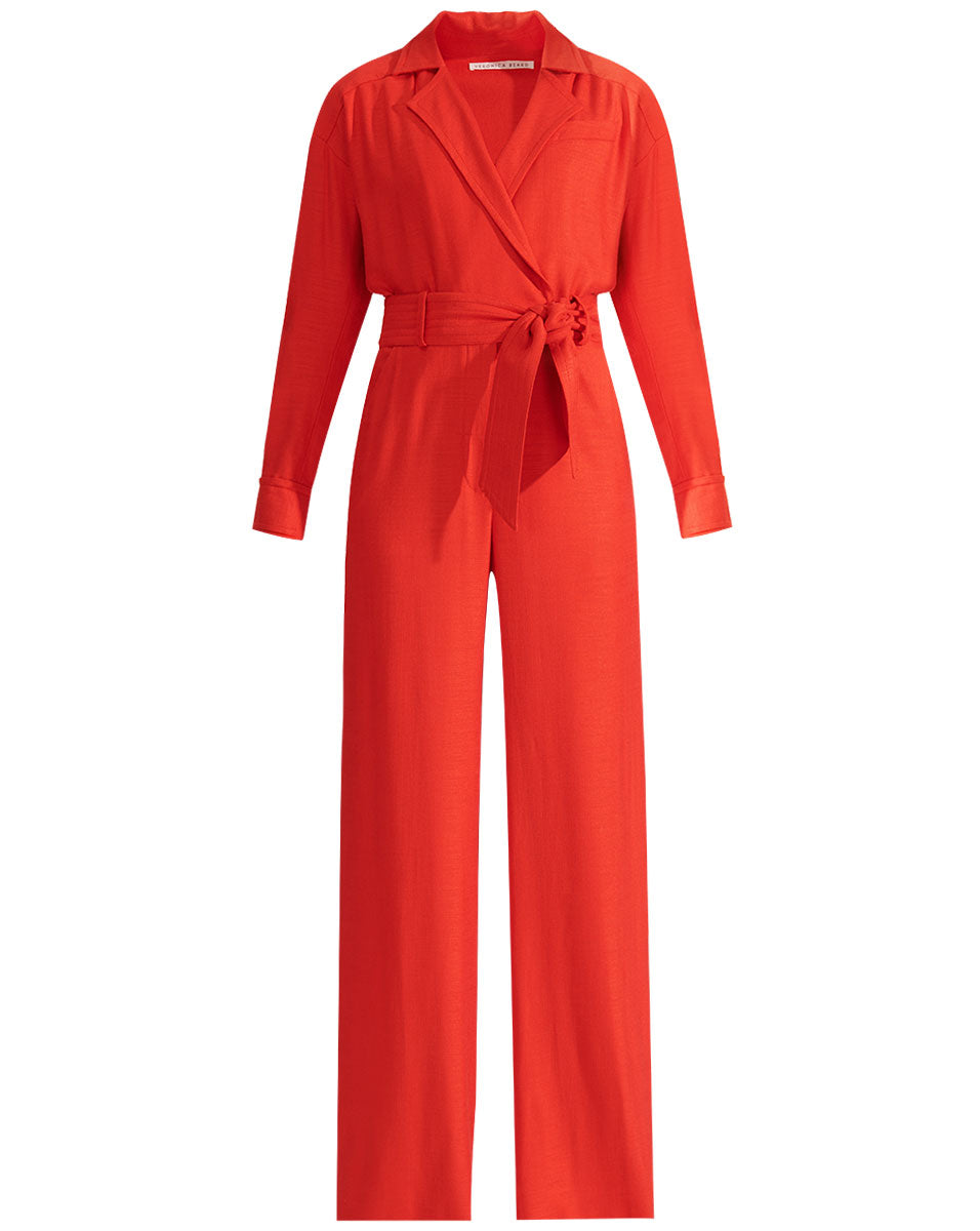 Lionel Jumpsuit - Red