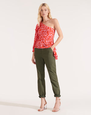 Vida Top - Poppy Multi