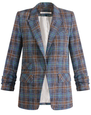Martel Dickey Jacket - Blue Multi