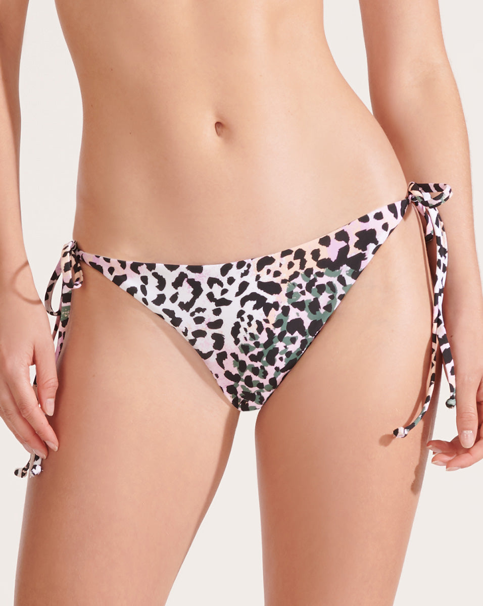 Gavitella String Bikini Bottom - Lilac Multi