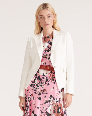 Woodley Dickey Jacket - Ivory
