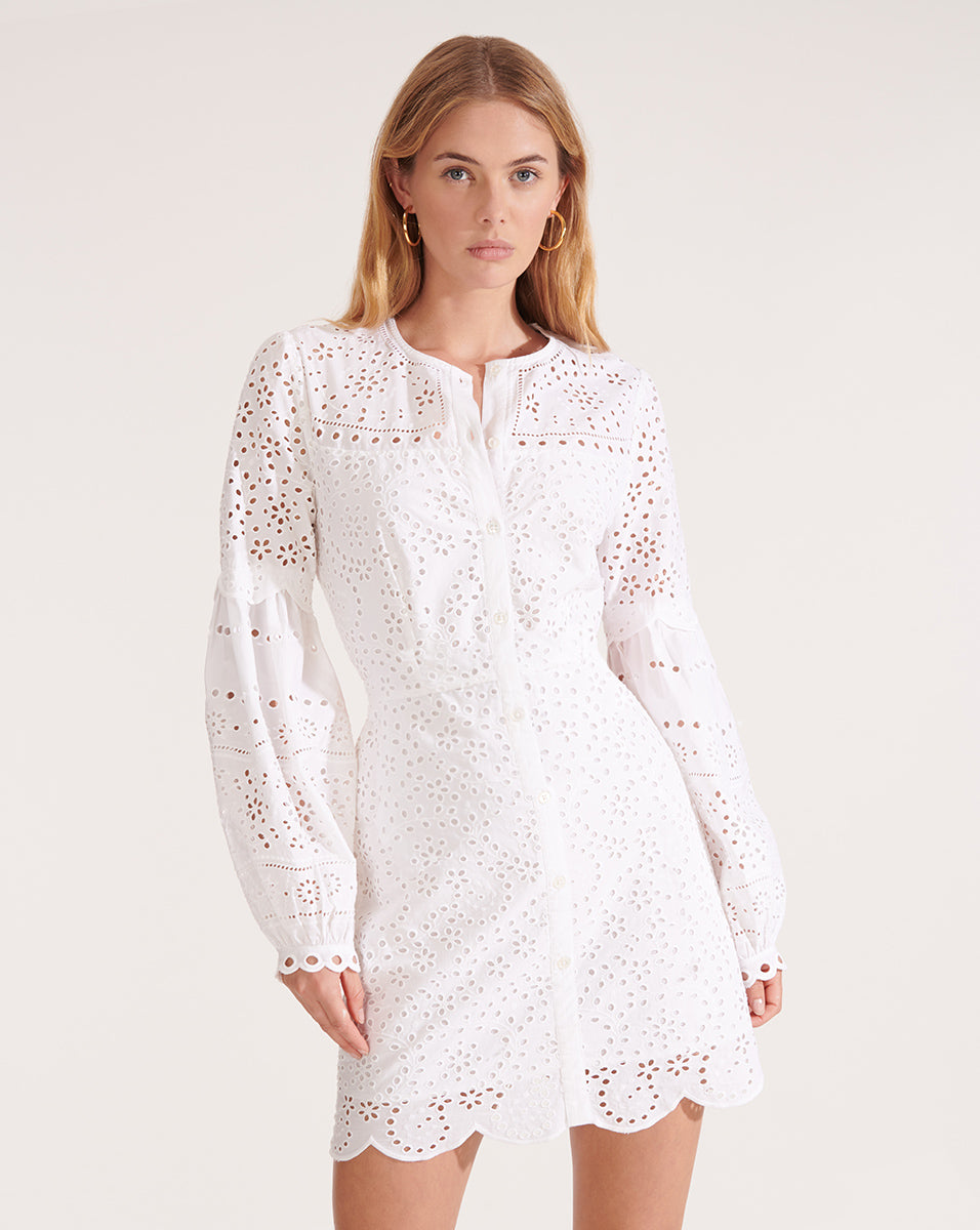 Yana Dress - White