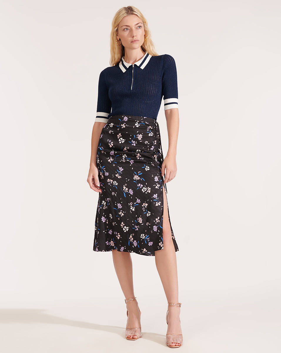 Vanity Skirt - Black Multi