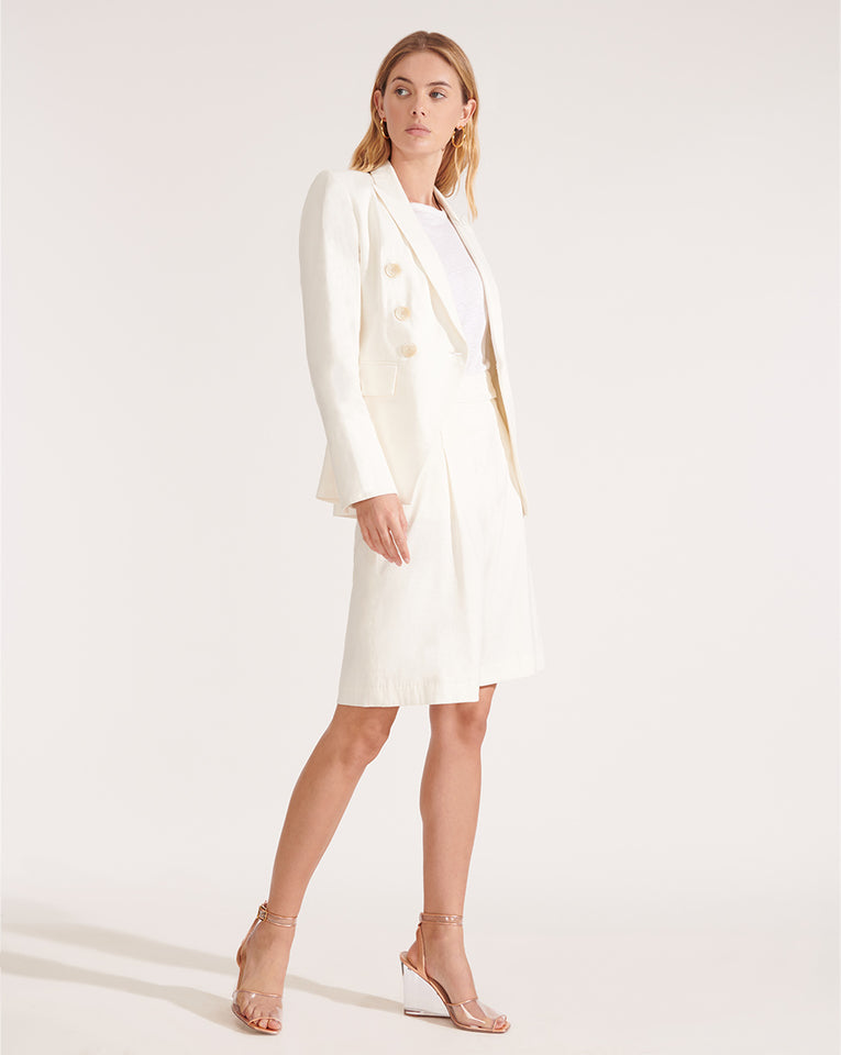 Lonny Linen Dickey Jacket - Off-White