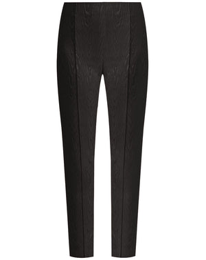 Honolulu Moiré Pant - Black
