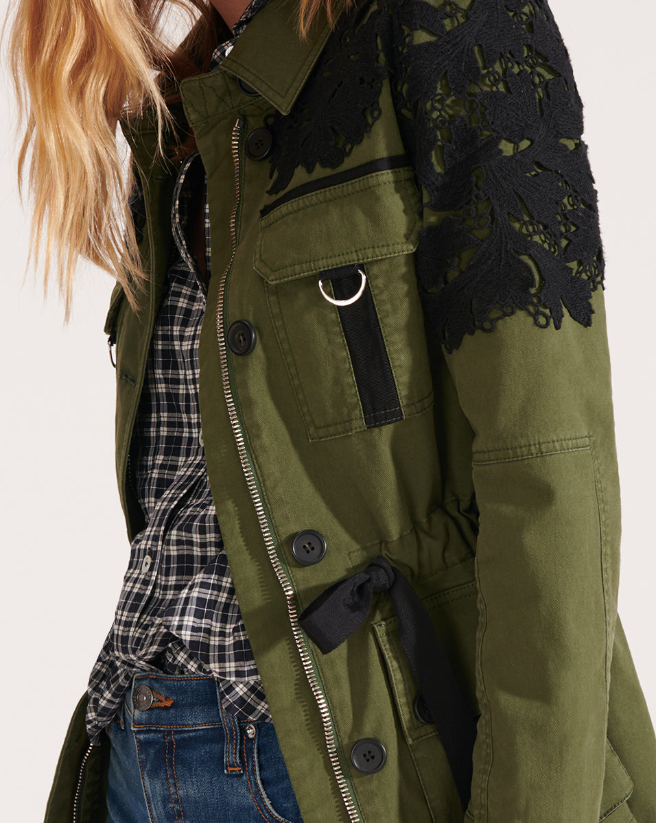 Heritage Military Jacket - Army Green