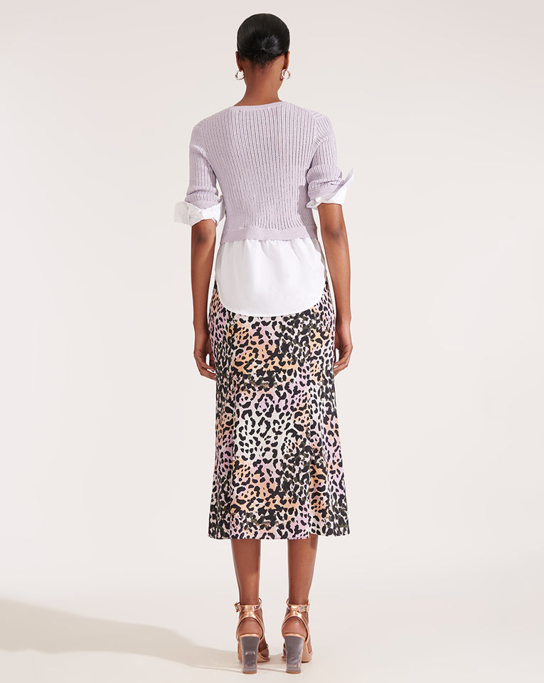 Diane Skirt - Lilac Multi