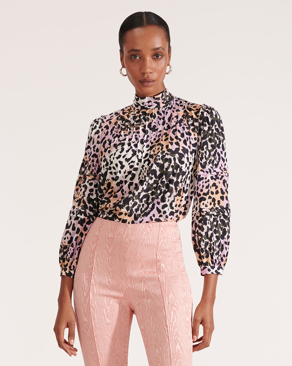 Lety Top - Lilac Multi