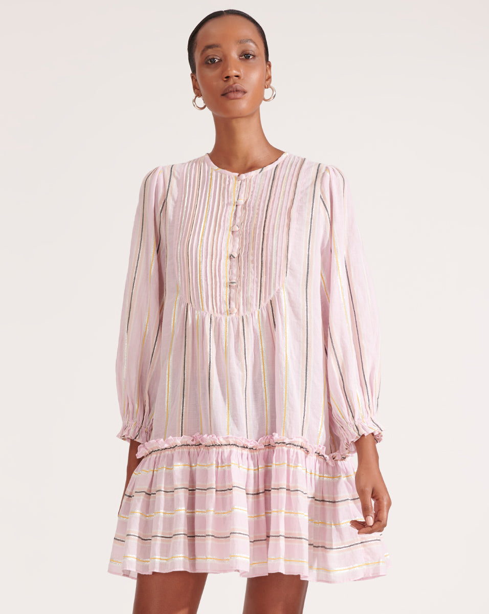 Tibbett Tunic Dress - Orchid