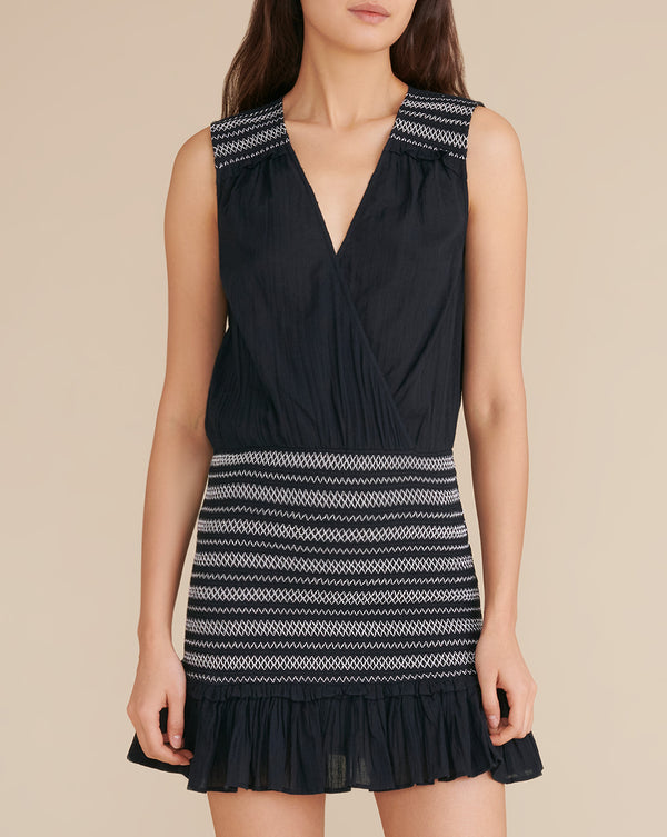 Cox Cover-Up Dress - Black