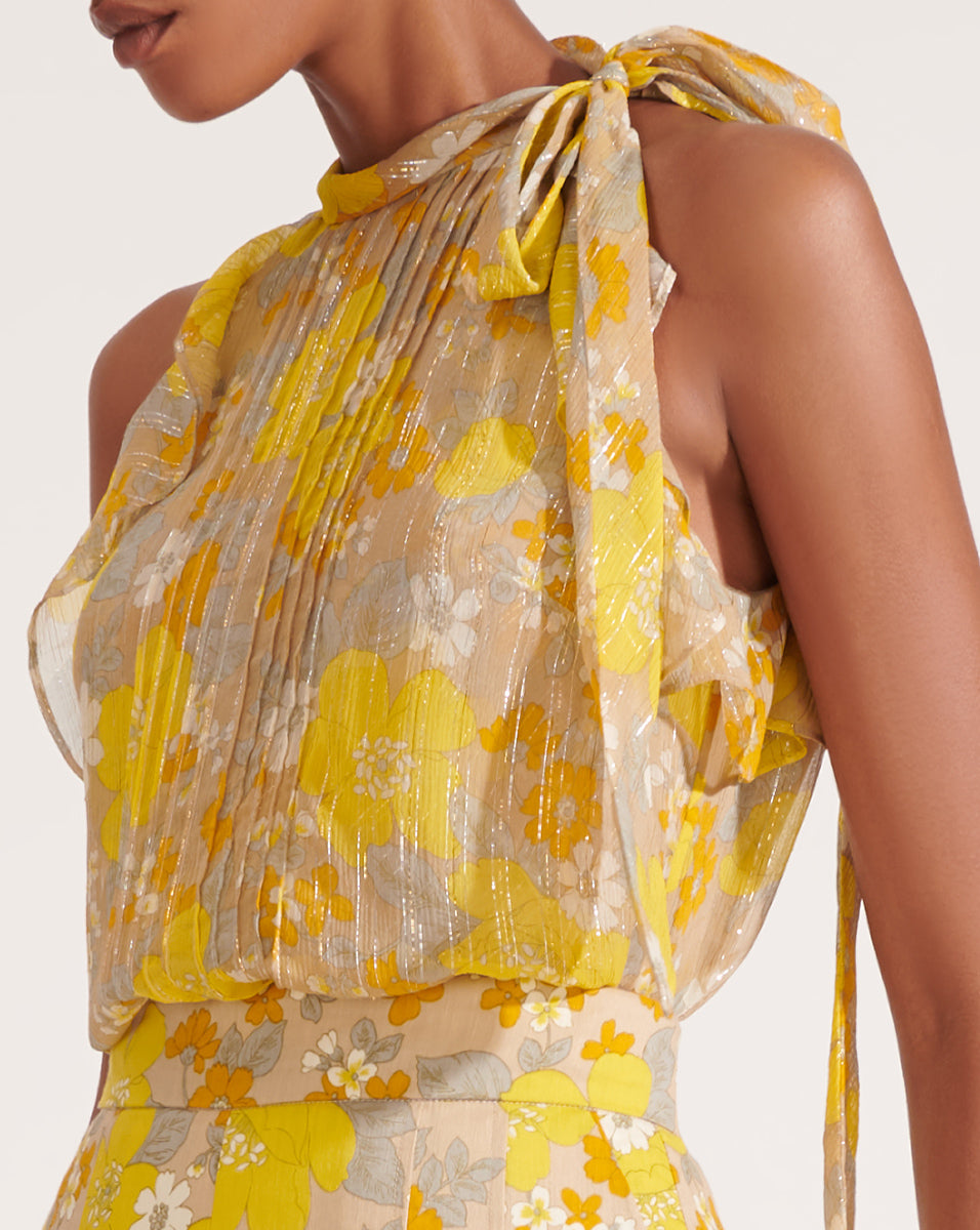 Dali Top - Yellow Multi