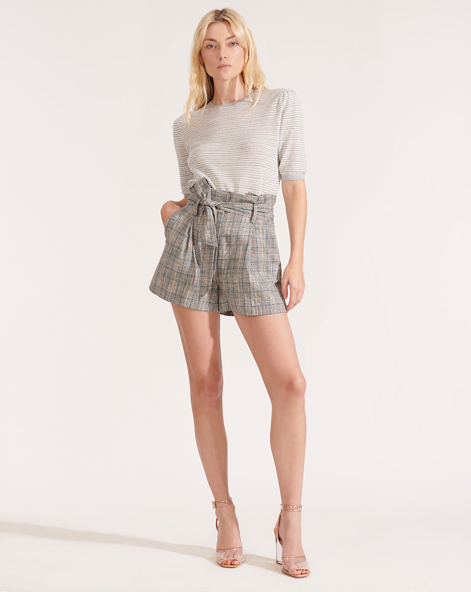 Baga Plaid Short