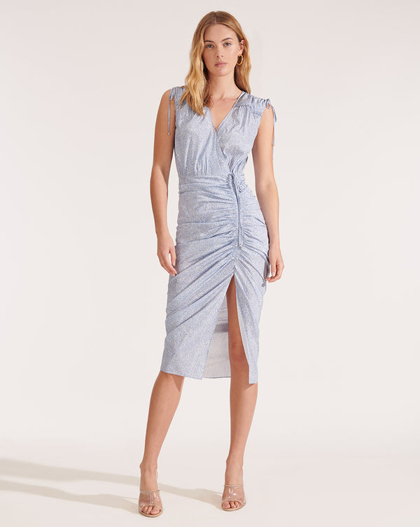 Teagan Dress - Blue
