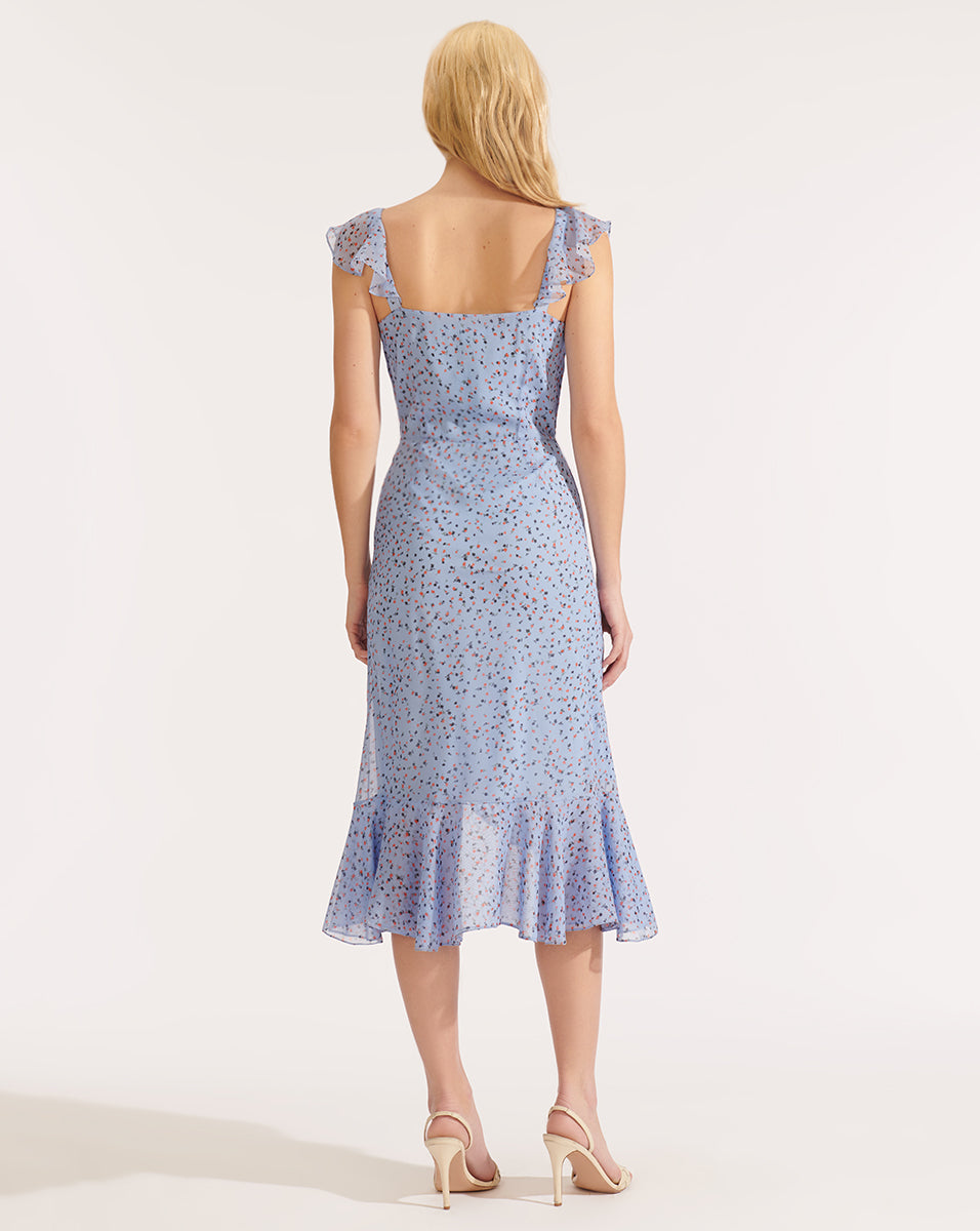 Amal Dress - Blue Multi