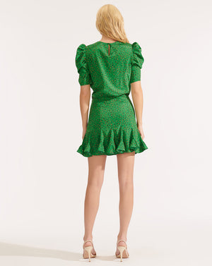 Lila Dress - Green Multi