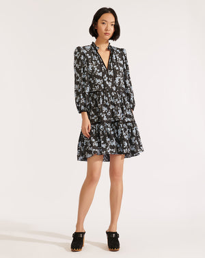 Hawken Dress - Black Multi