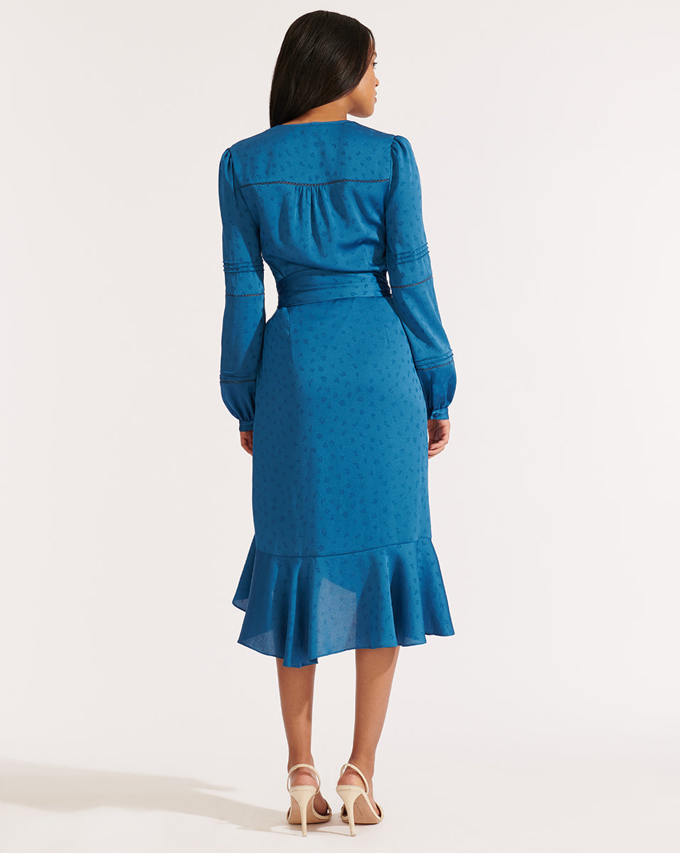 Miriam Dress - Cerulean