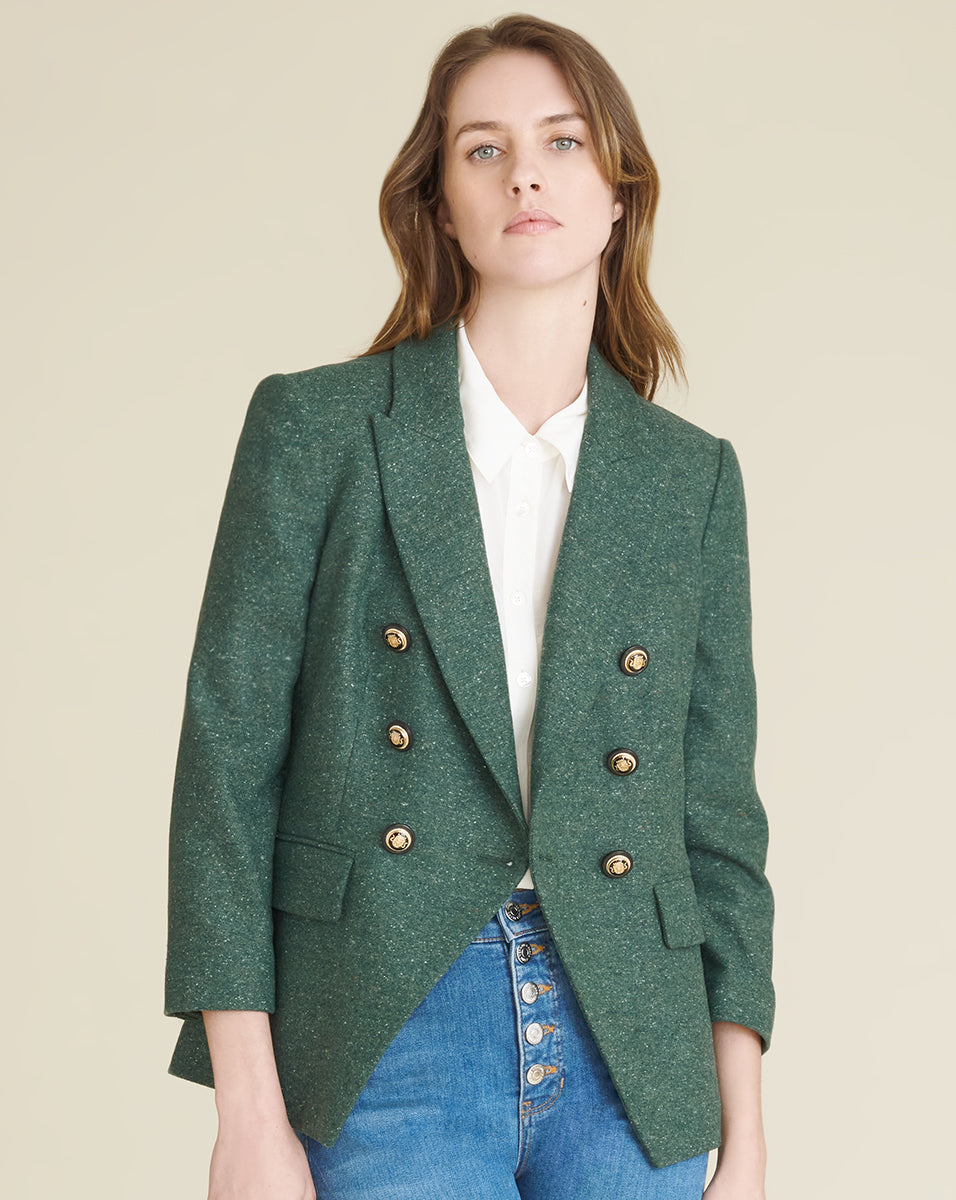 Empire Dickey Jacket - Forest Green