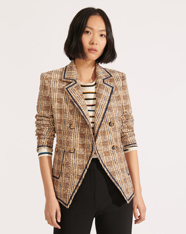 Theron Jacket - Brown Multi