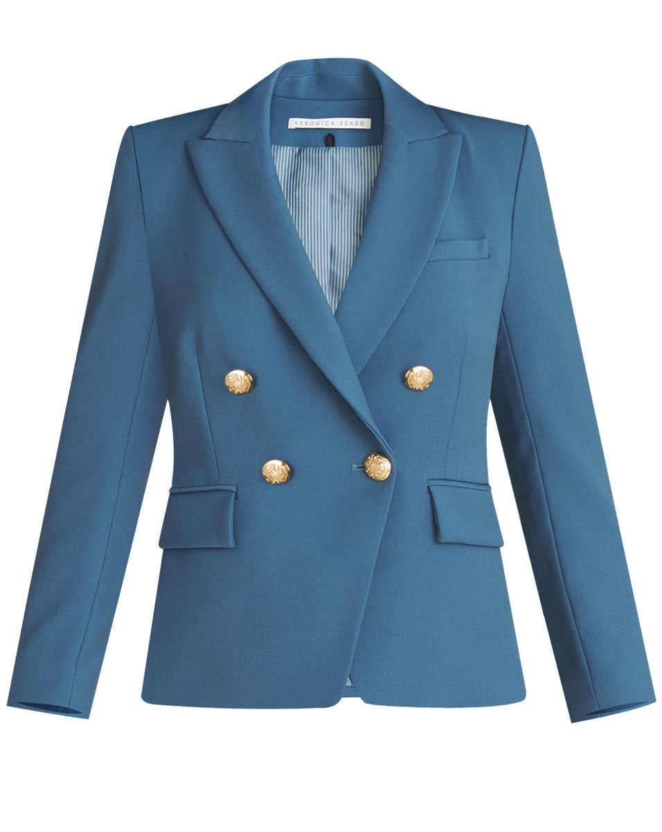 Gail Jacket - Steel Blue