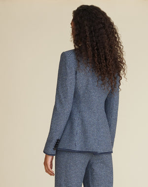 Halia Dickey Jacket - Prussian Blue