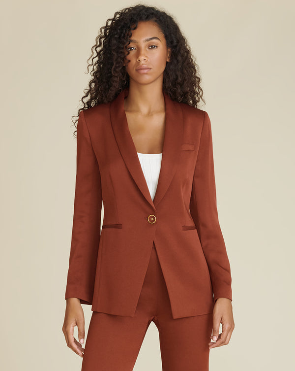 Kollia Dickey Jacket - Clay