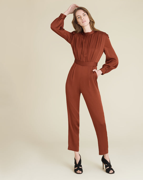 Kavia Jumpsuit - Clay