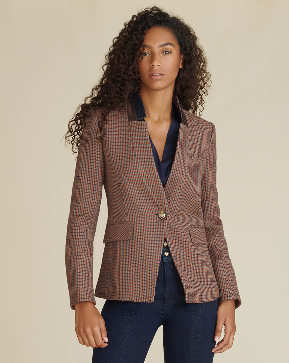 Upcollar Dickey Jacket - Multi