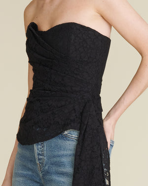Selima Top - Black