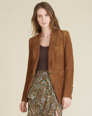 Long And Lean Dickey Jacket - Acorn