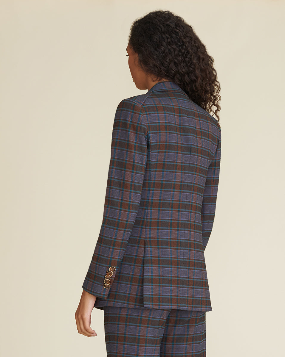 Matteo Plaid Dickey Jacket - Multi