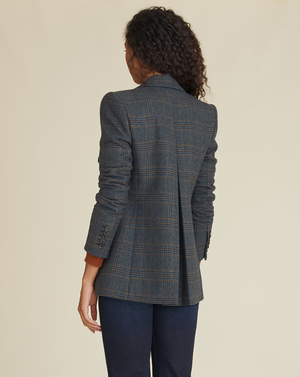 Yareli Dickey Jacket - Navy Multi