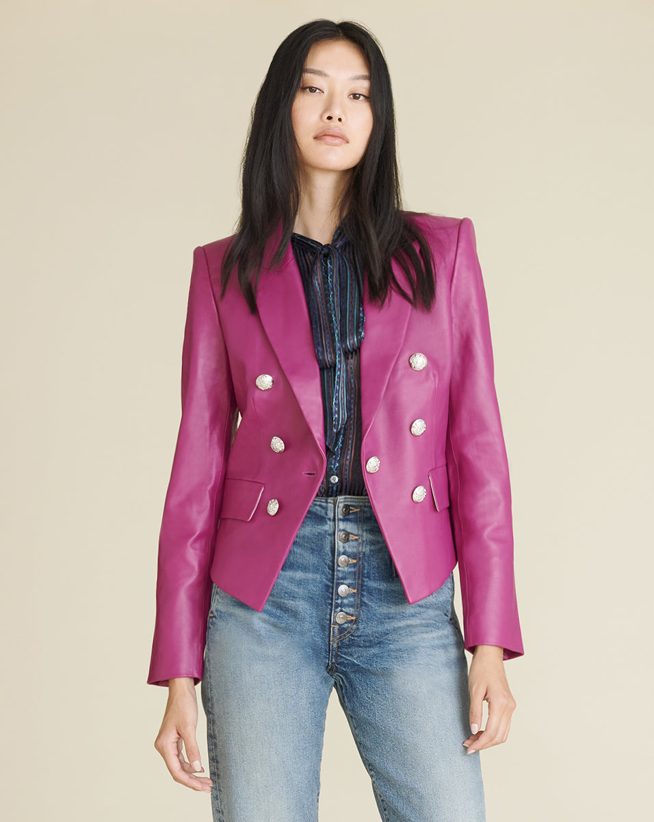 Cooke Dickey Jacket - Magenta