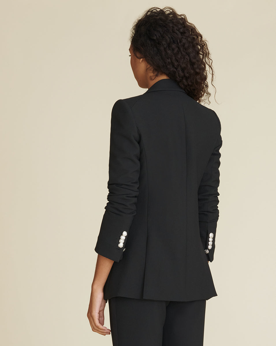 Matteo Dickey Jacket - Black