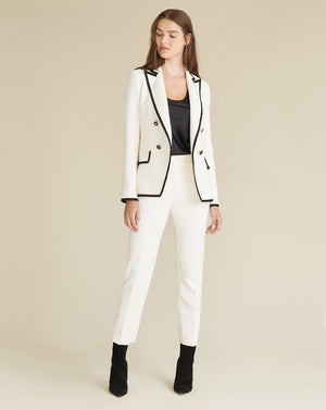 Harriet Dickey Jacket - Antique White