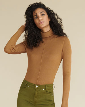 Kreia Turtleneck Pullover - Bronze