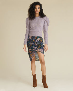 Novah Crew Neck Sweater - Lilac