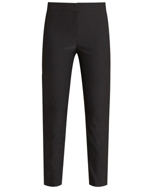 Lago Stretch-Shantung Pant - Black