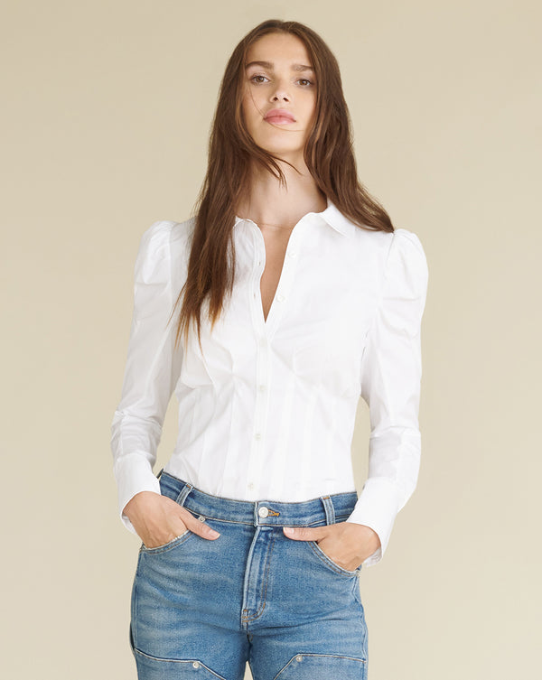 Gilan Top - White
