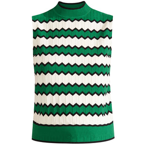 Collins Mock-Neck Shell - Multi