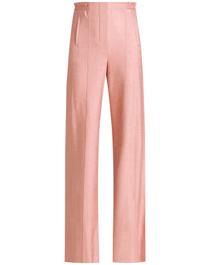Ginta Sateen-Twill Pant - Rosewood